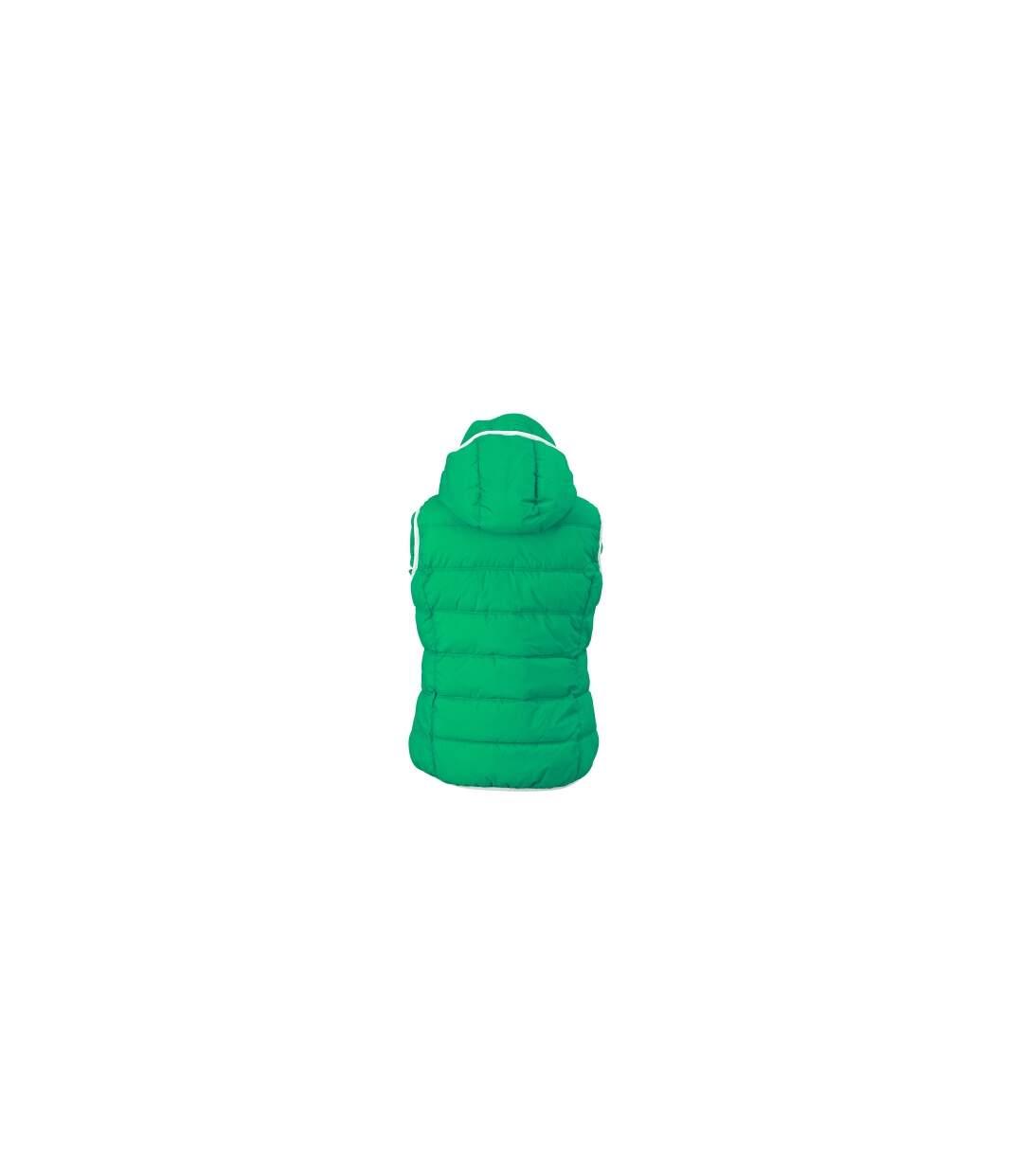 Doudoune sans manches pour femme - JN1075 - vert