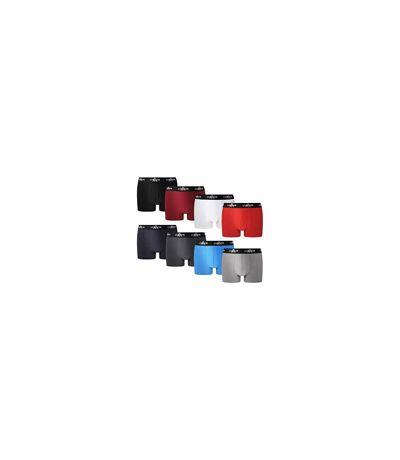 FM London Men's Fitted Boxer Hipsters 8-Pack - Multicolour