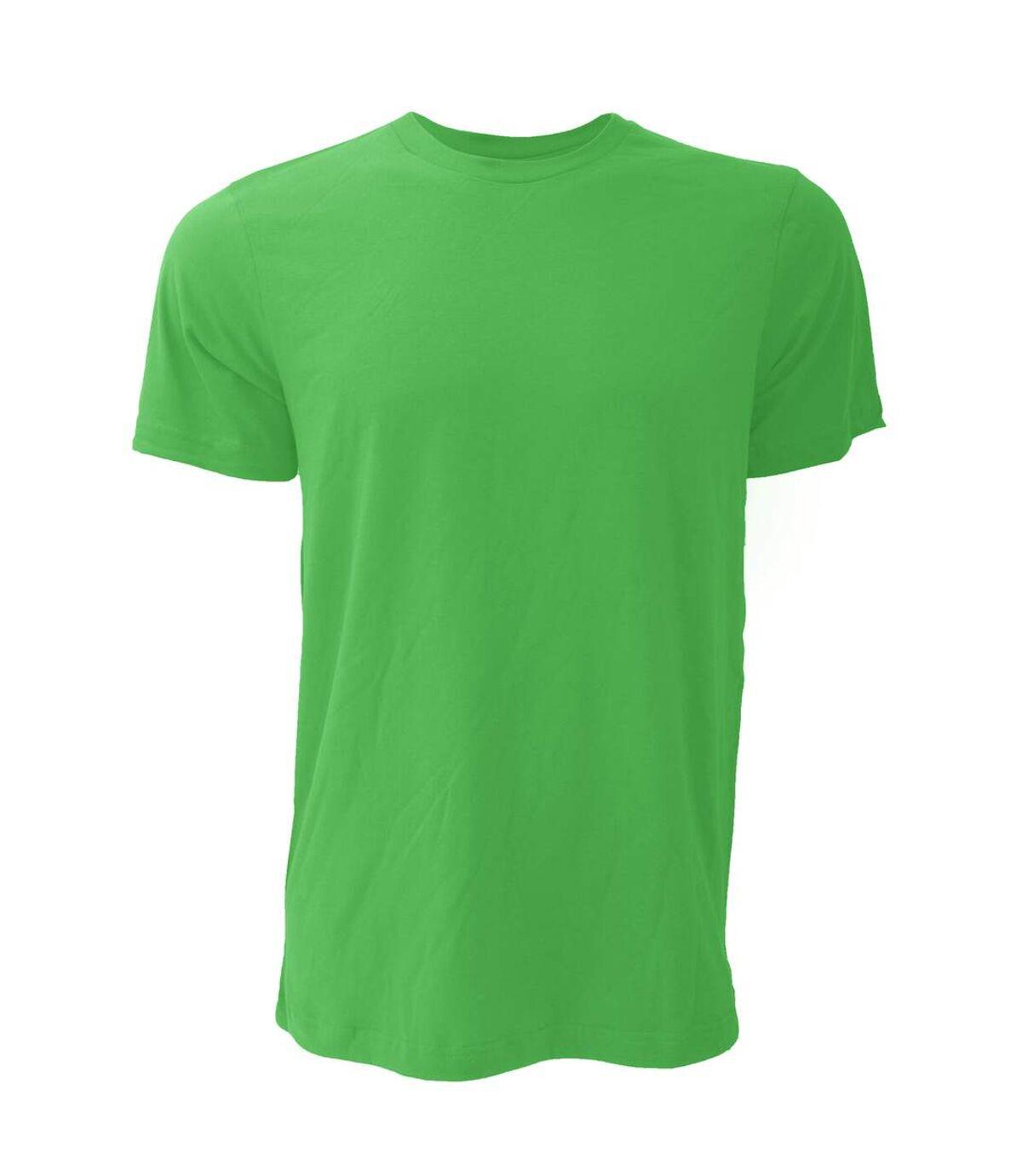 Canvas Unisex Jersey Crew Neck T-Shirt / Mens Short Sleeve T-Shirt (Kelly Green) - UTBC163
