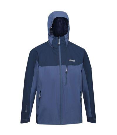 Regatta Mens Wentwood V Insulated Waterproof Jacket (Brunswick Blue/Nightfall Navy) - UTRG5262