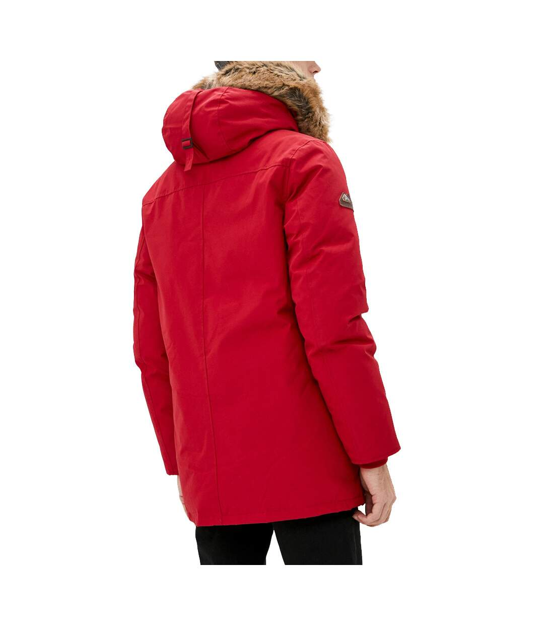 Parka Rouge Homme Superdry Rookie Down