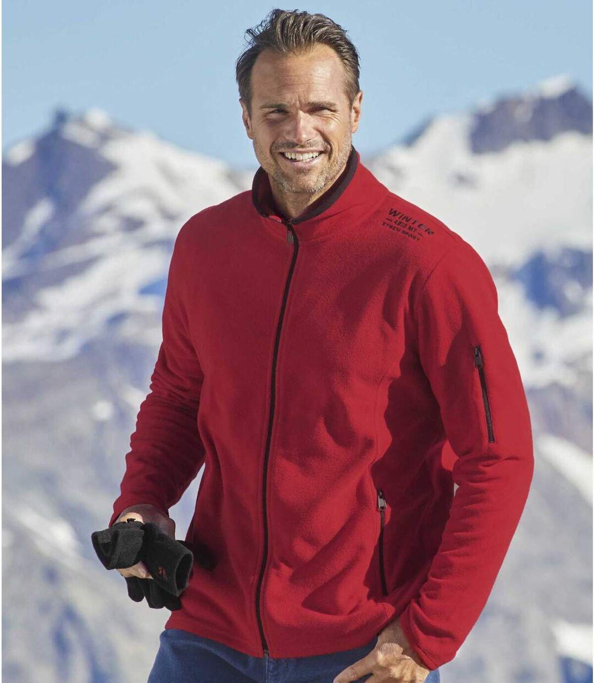 2 Winter Sport mikropolár kardigánból álló szett Atlas For Men