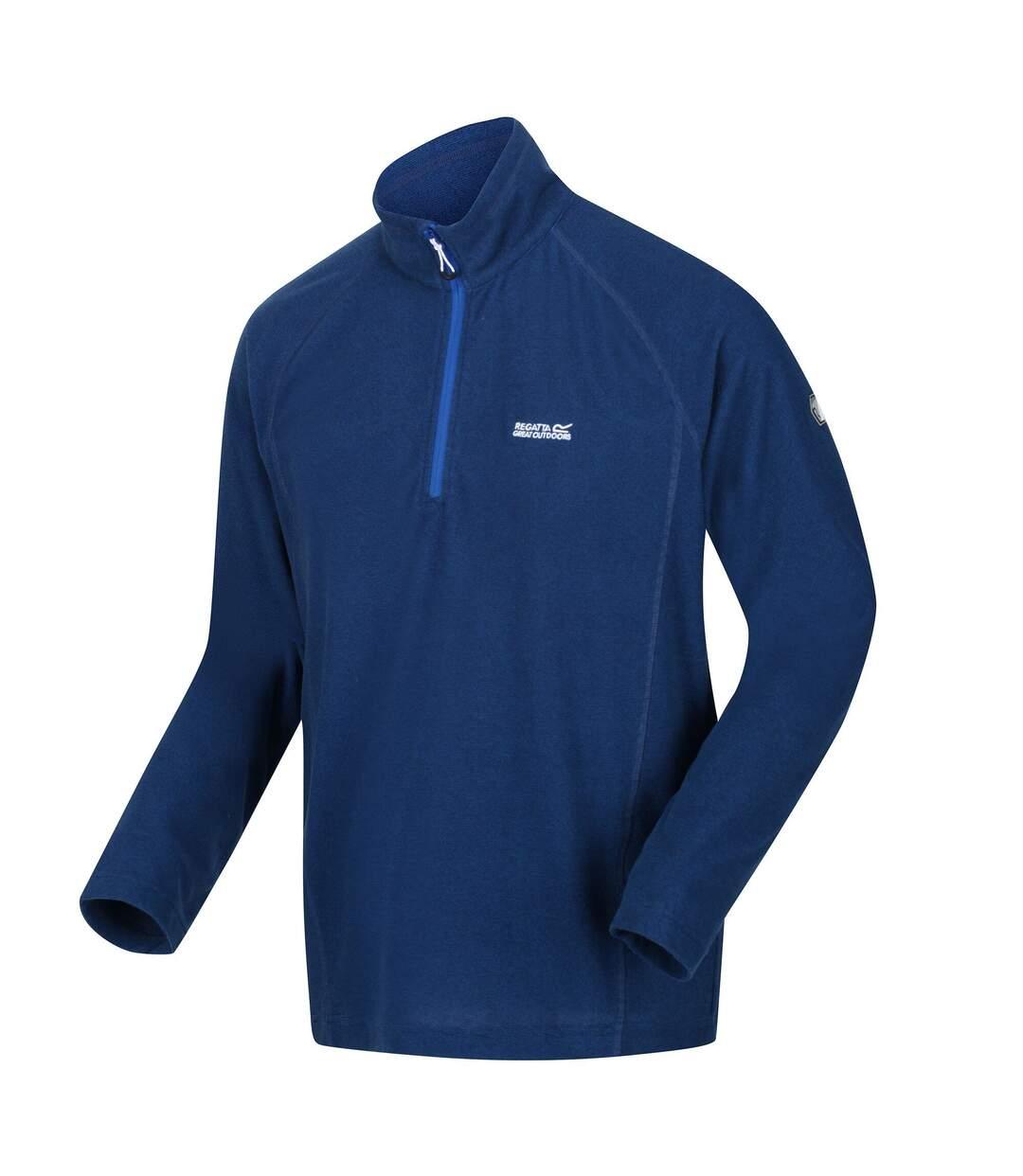Regatta Great Outdoors Mens Montes Fleece Top (Captains Blue) - UTRG2131