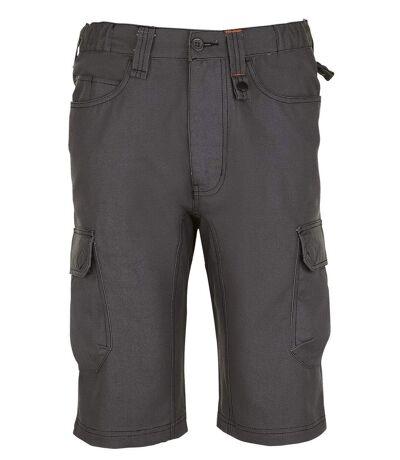 Bermuda de travail - workwear - PRO 01563 - gris