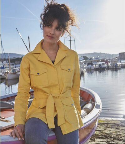 Žluté letní sako
