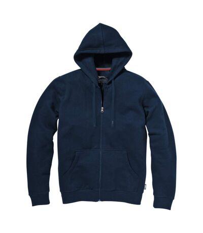 Slazenger Mens Open Full Zip Hooded Sweater (Sky Blue) - UTPF1762