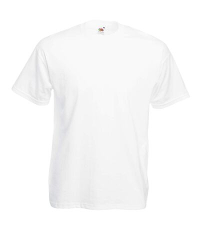 Fruit Of The Loom - T-shirt manches courtes - Homme (Blanc) - UTBC330