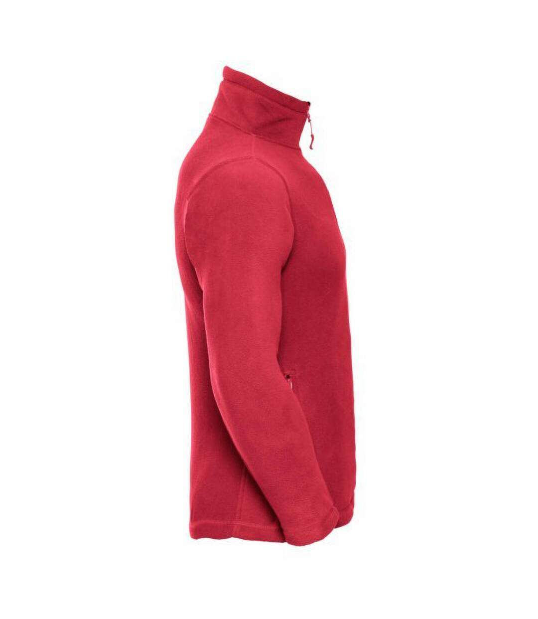 Russell Mens 1/4 Zip Outdoor Fleece Top (Classic Red) - UTBC1438