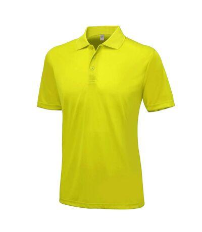 AWDis Just Cool Mens Smooth Short Sleeve Polo Shirt (Sun Yellow) - UTPC2632