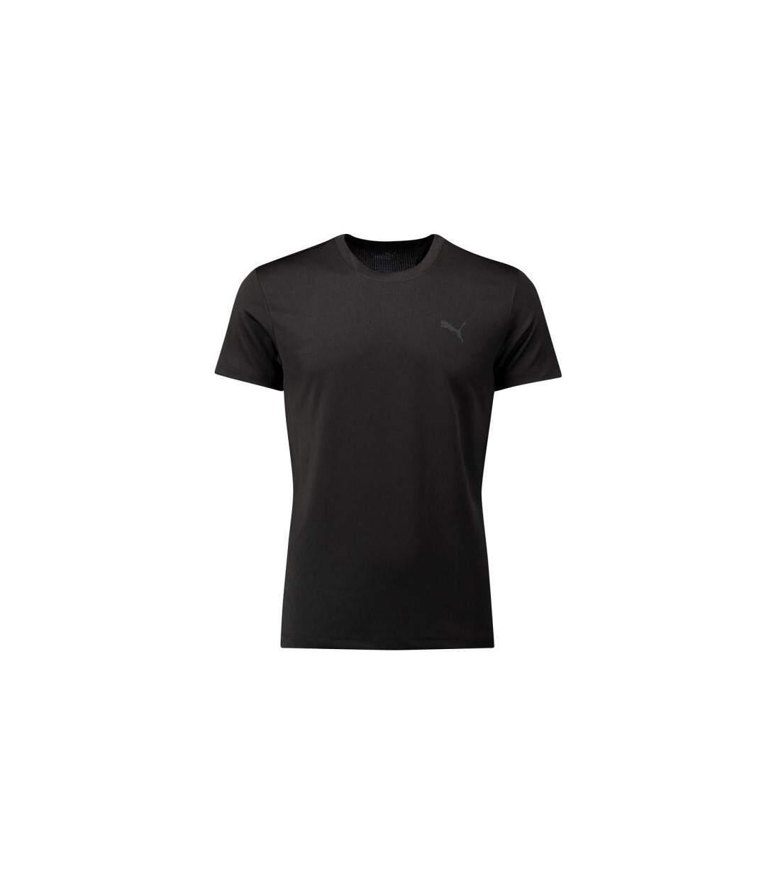 PUMA T-shirt Col rond Homme Microfibre ACTIVE CREWTEE Noir