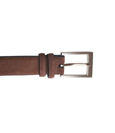 Eastern Counties Leather Womens/Ladies Suede Belt (Brown) - UTEL247