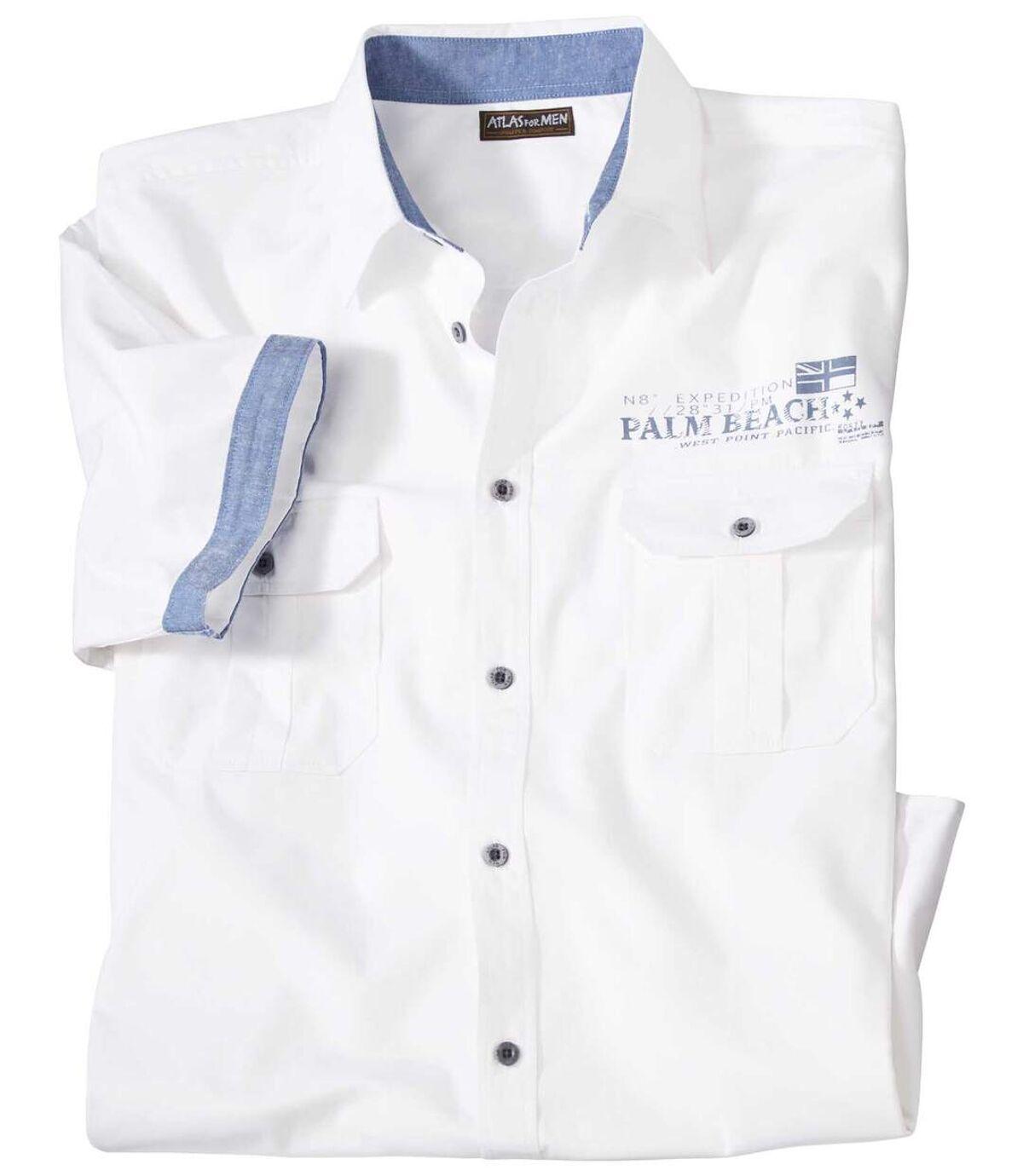 Popelínová košile Mykonos Atlas For Men