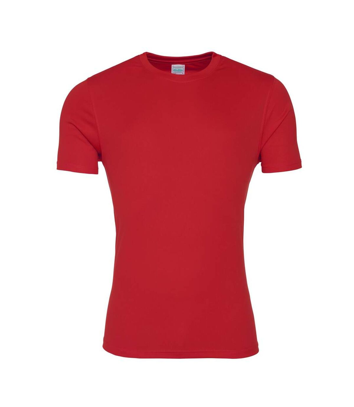 AWDis Just Cool Mens Smooth Short Sleeve T-Shirt (Fire Red) - UTRW5357