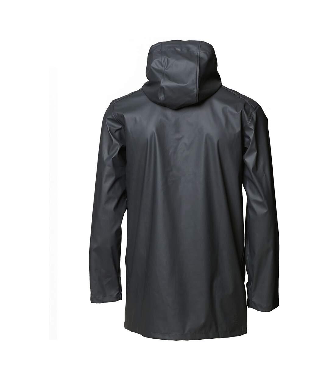 Nimbus Mens Huntington Hooded Waterproof Fashion Raincoat (Charcoal) - UTRW5333