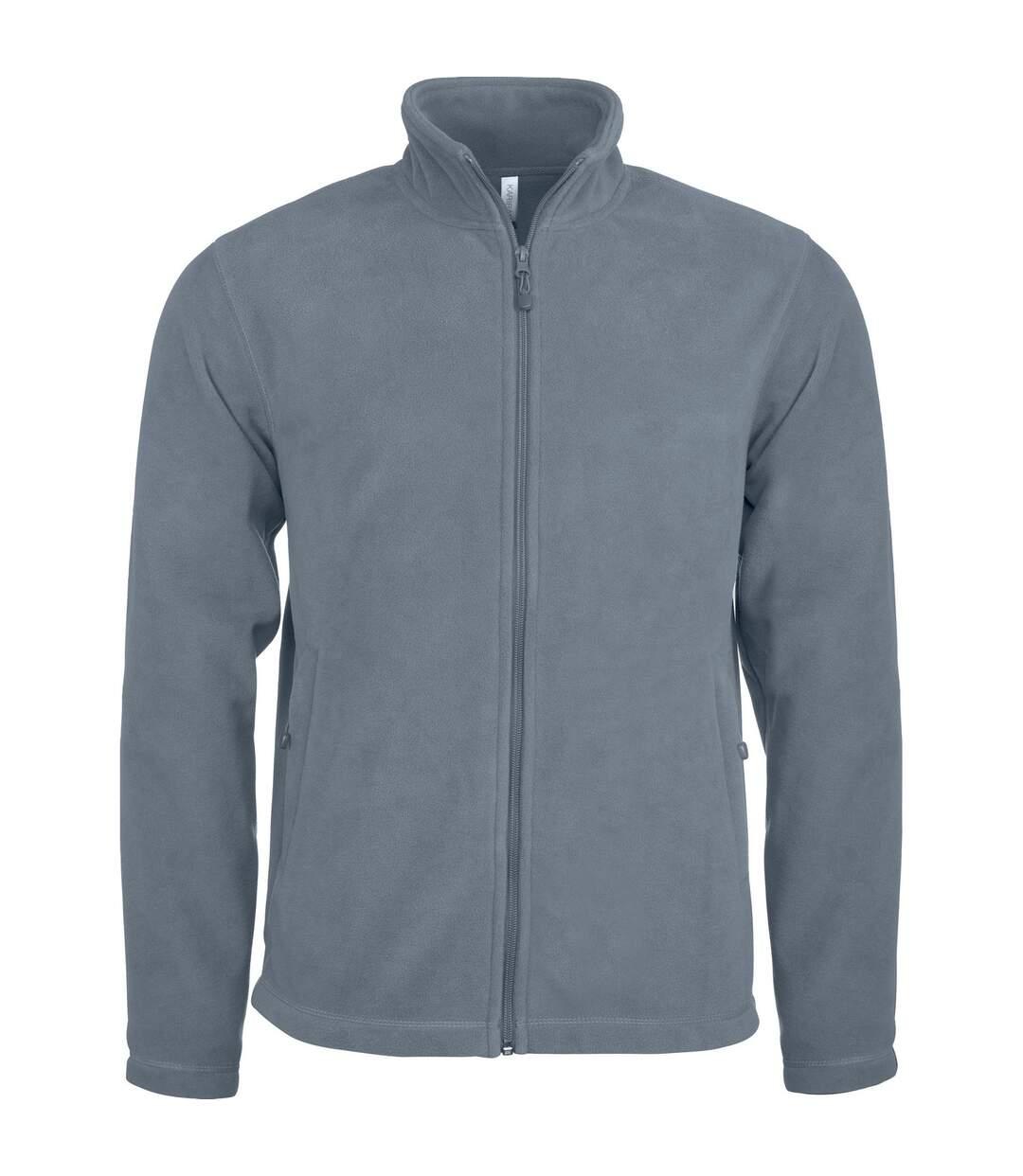Kariban Mens Full Zip Anti Pill Microfleece Jacket (Convoy Grey) - UTRW4222