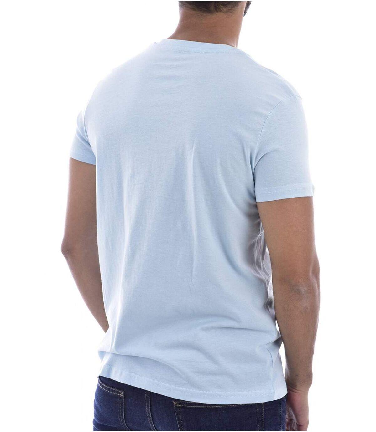 Tee shirt coton à petit logo  -  Nasa - Homme