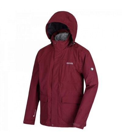 Regatta Mens Northton II Hooded Jacket (Fig/Black) - UTRG3680