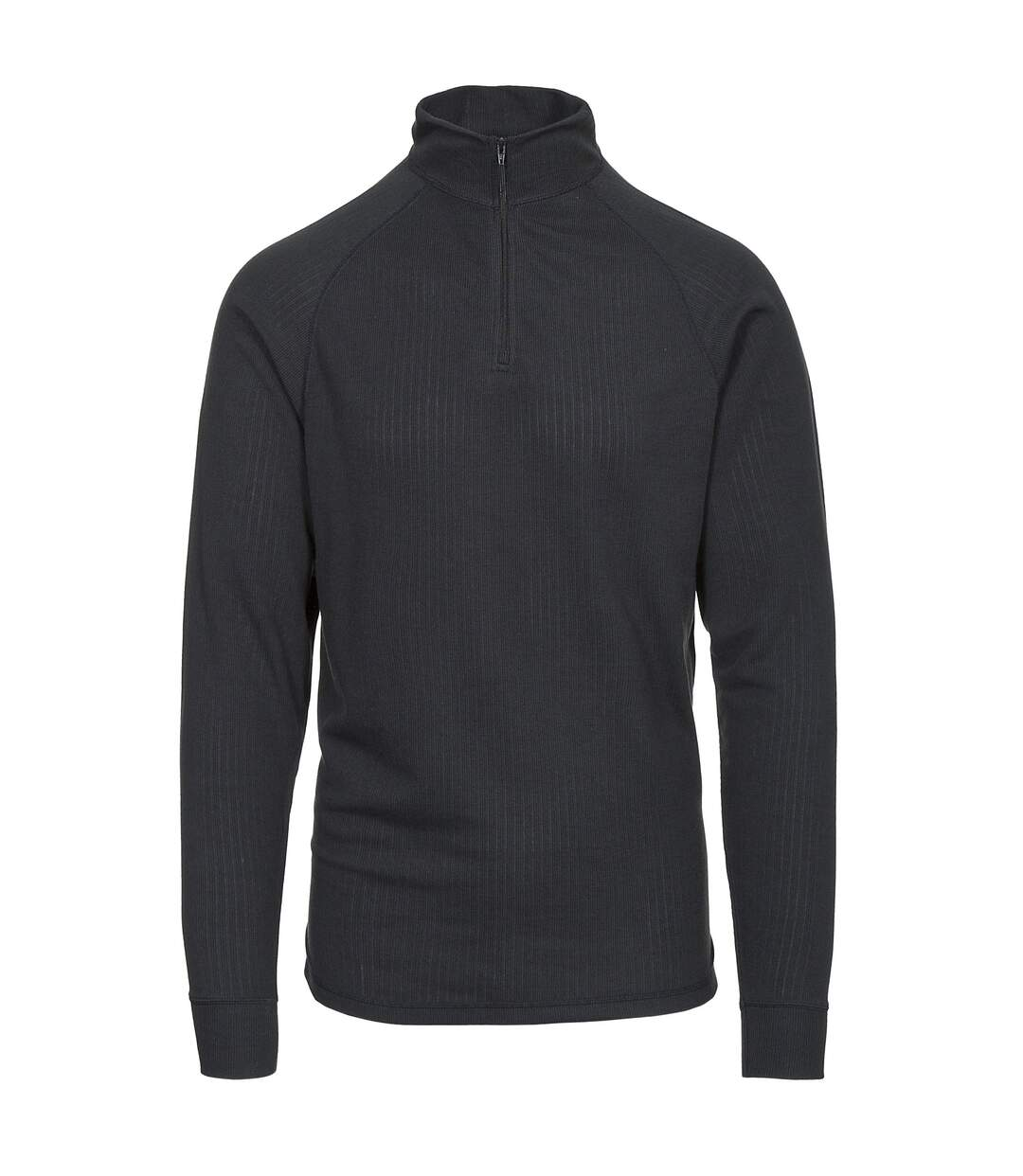 Trespass Adults Unisex Wise360 Quick Dry Base Layer Top (Black) - UTTP3853