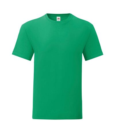 Fruit Of The Loom Mens Iconic T-Shirt (Kelly Green) - UTPC3389