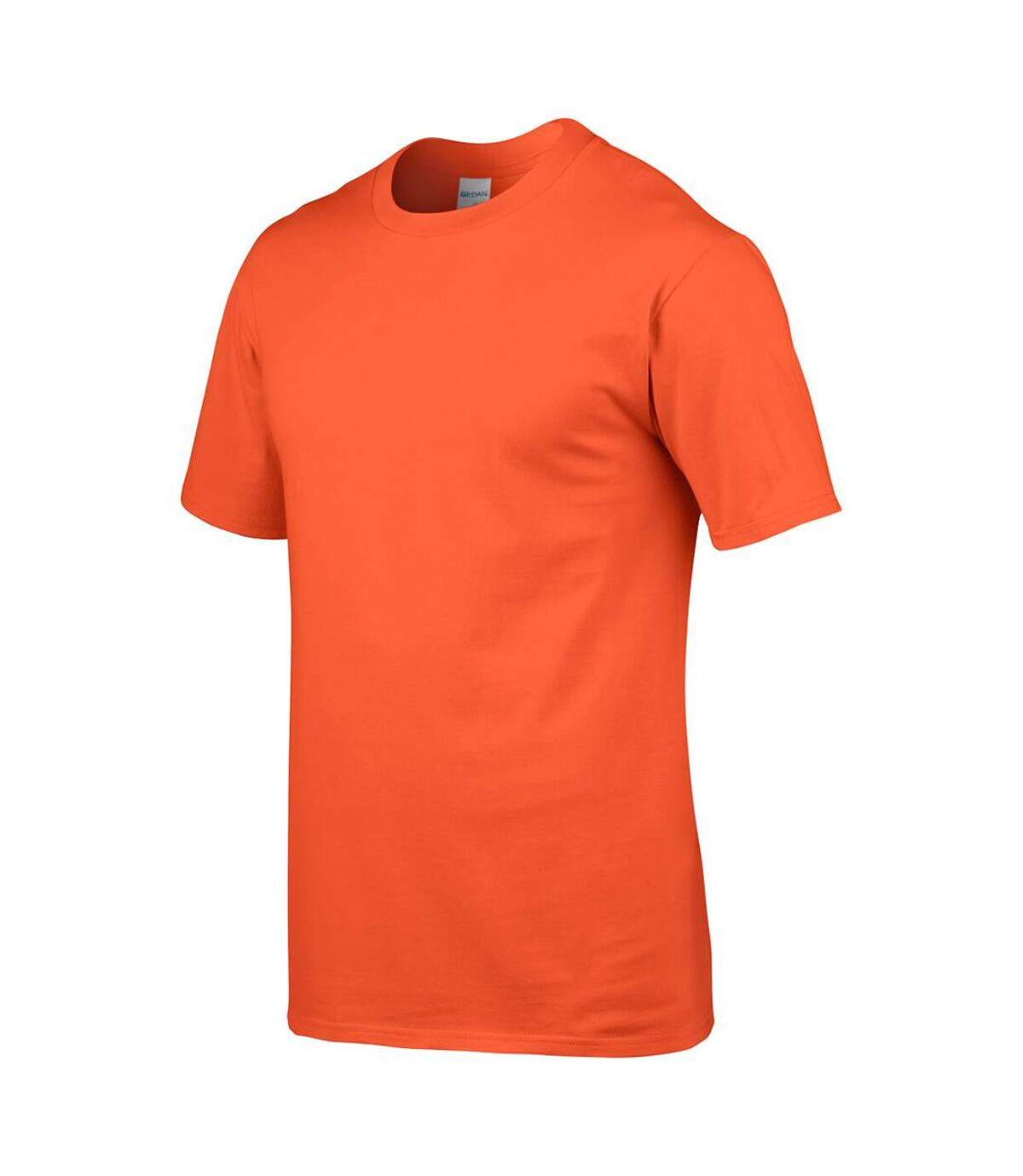 Gildan - T-shirt à manches courtes - Homme (Jaune) - UTBC480
