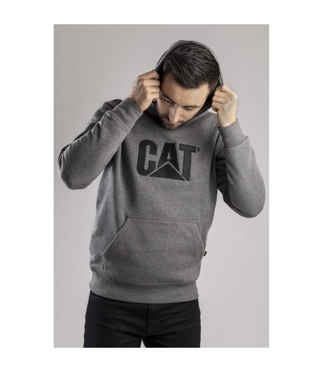 Caterpillar CW10646  - Sweatshirt à capuche - Homme (Gris) - UTFS813