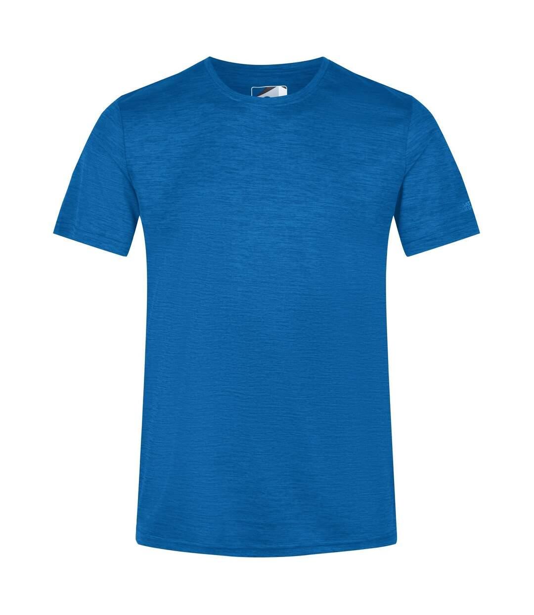 Regatta Mens Fingal Edition Marl T-Shirt (Nautical Blue Marl) - UTRG5795