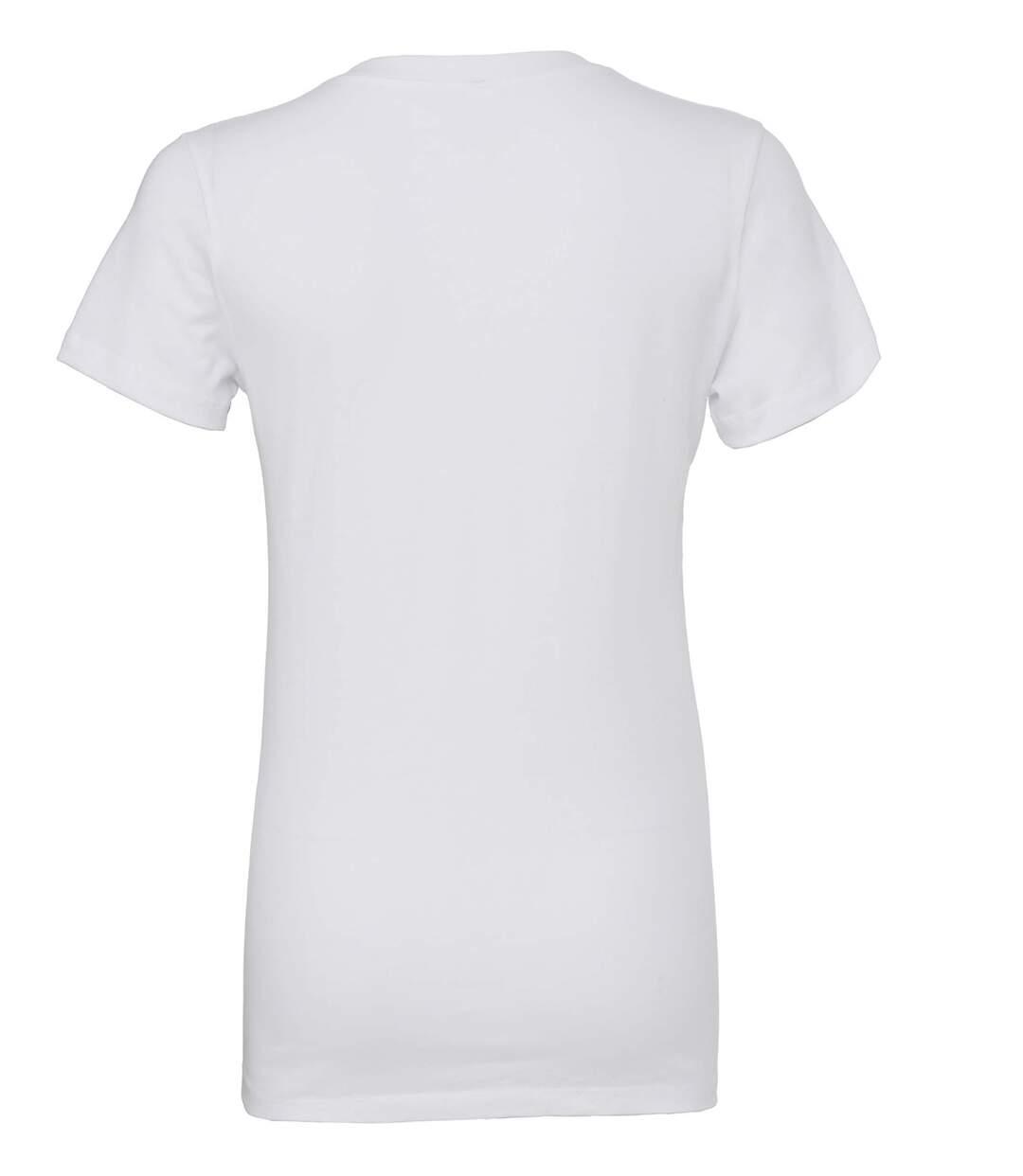T-shirt léger col V profond