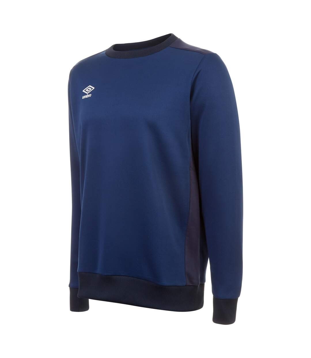 Umbro Mens Fleece Training Sweatshirt (Navy/Dark Navy) - UTGD105