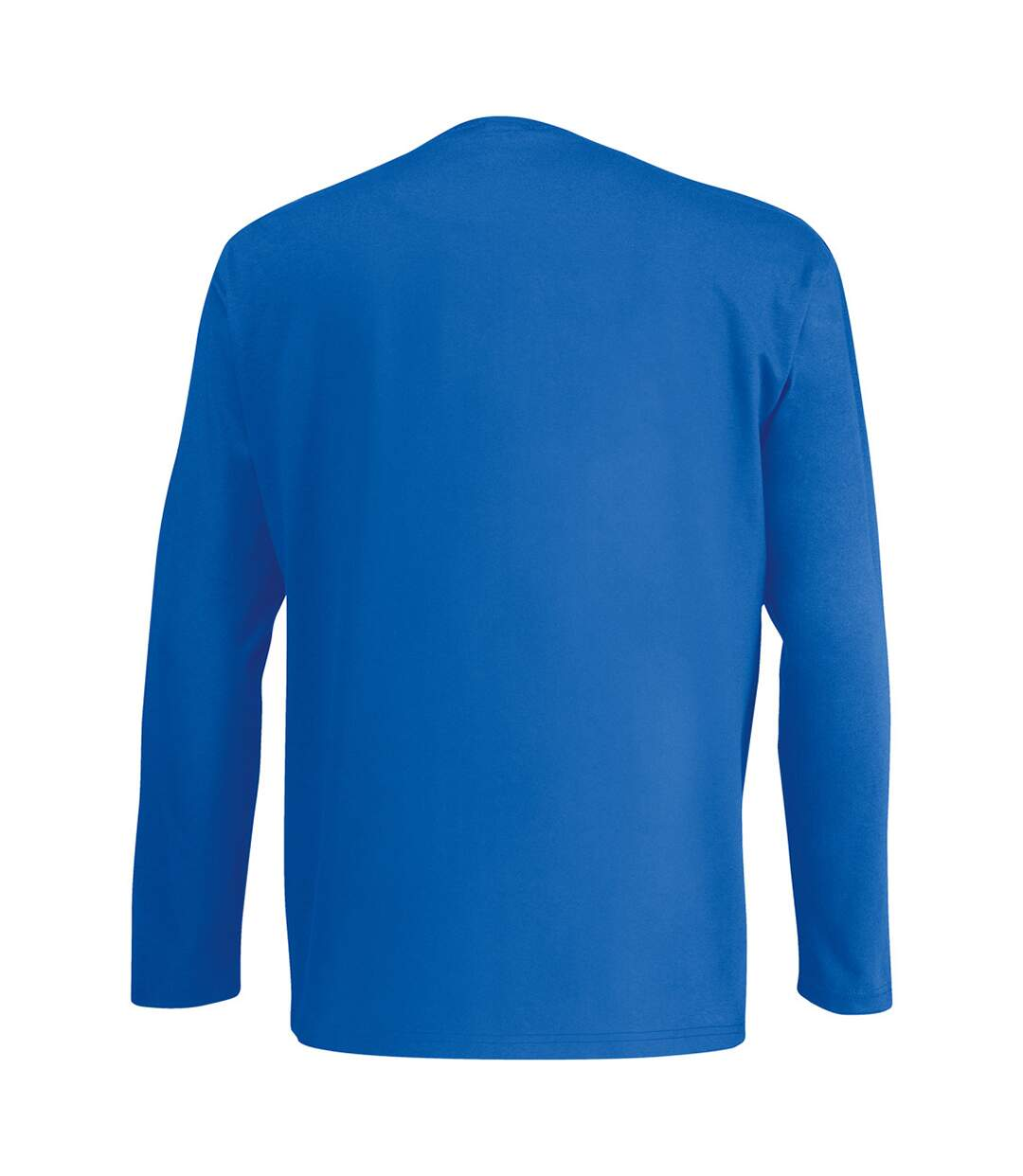 Mens Value Long Sleeve Casual T-Shirt (Cobalt) - UTBC3902