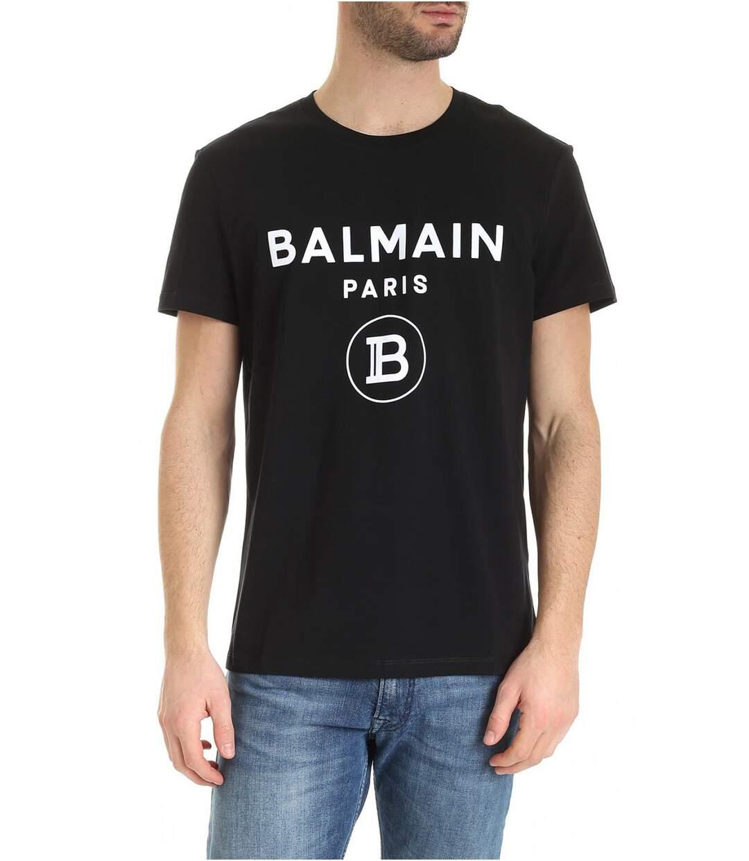 Tee shirt en coton iconic  -  Balmain - Homme