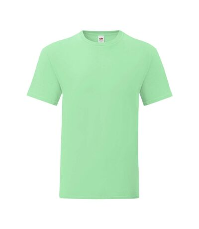Fruit Of The Loom Mens Iconic T-Shirt (Neo Mint) - UTPC3389