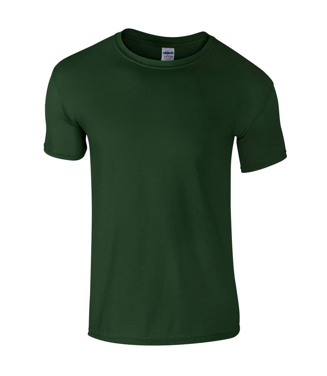 Gildan Mens Short Sleeve Soft-Style T-Shirt (Blackberry) - UTBC484