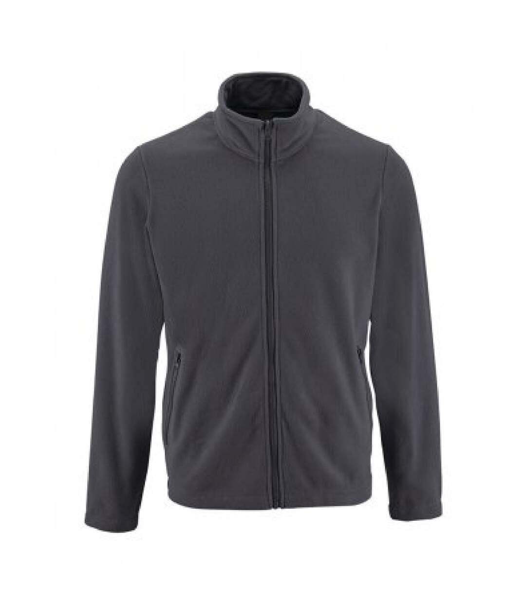 SOLS Mens Norman Fleece Jacket (Navy) - UTPC3210