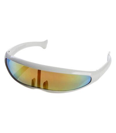 Bullet Mens Planga Sunglasses (White) (One Size) - UTPF2925