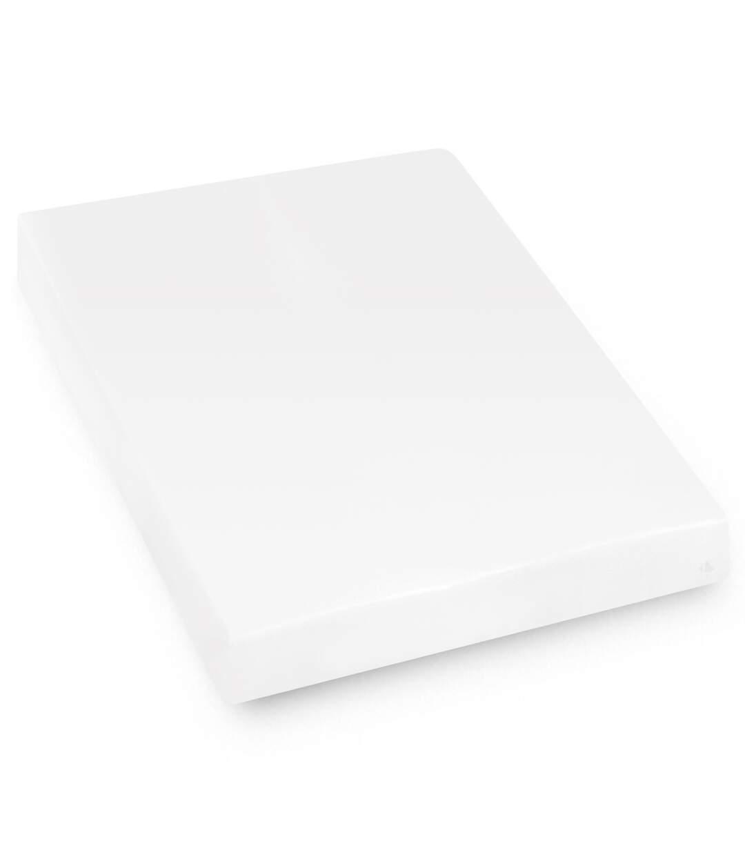 Protège matelas imperméable 160x200 cm bonnet 23cm ARNON molleton 100% coton contrecollé polyuréthane