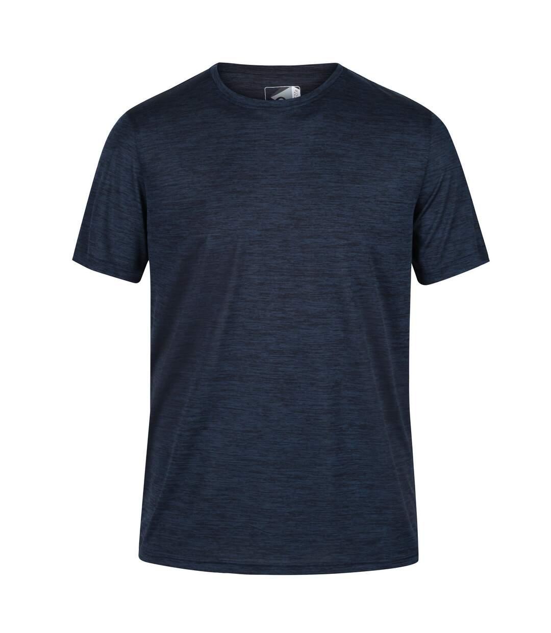 Regatta Mens Fingal Edition Marl T-Shirt (Navy Marl) - UTRG5795