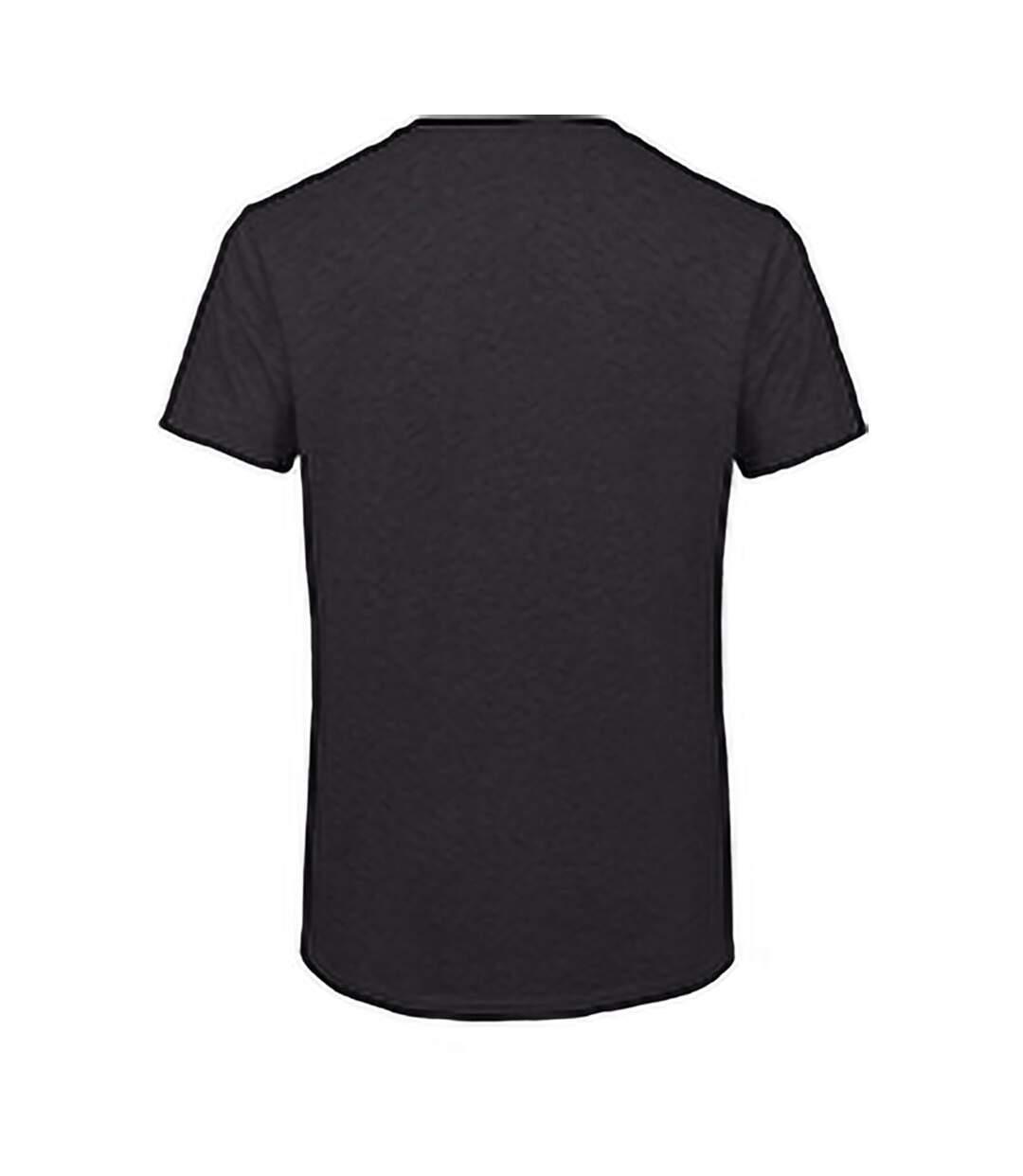 B&C Mens Favourite Short Sleeve Triblend T-Shirt (Heather Dark Grey) - UTBC3638