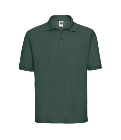 Russell Mens Classic Short Sleeve Polycotton Polo Shirt (Bottle Green) - UTBC566