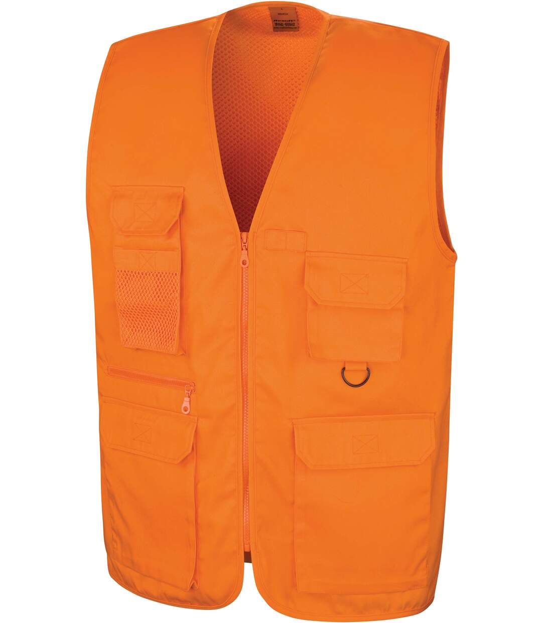 Gilet multipoches Safari Orange
