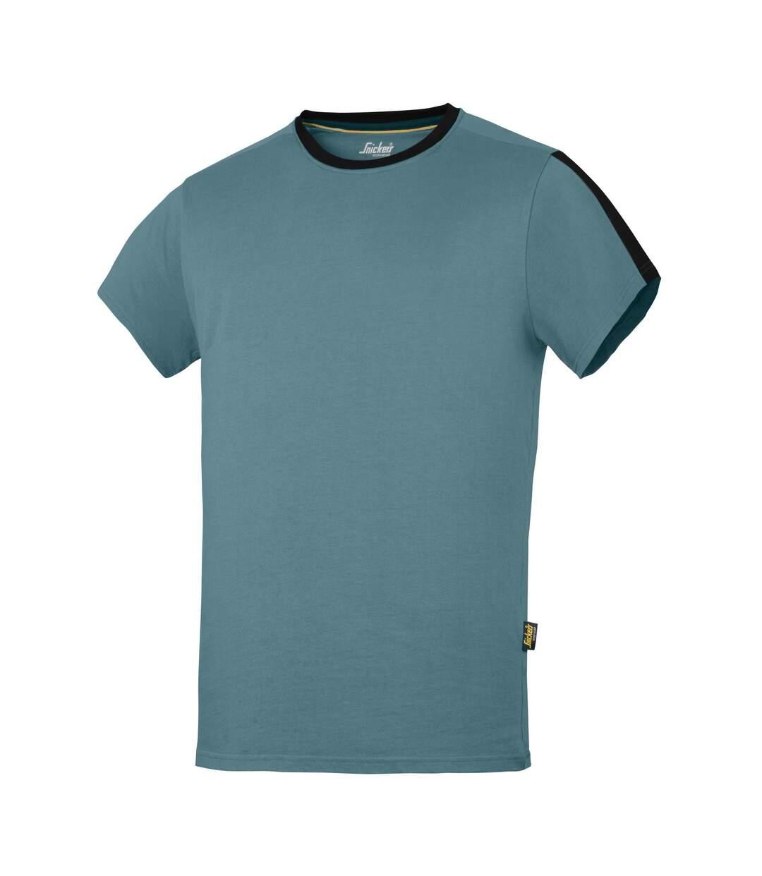 Snickers Mens AllroundWork Short Sleeve T-Shirt (Petrol/Black) - UTRW5482