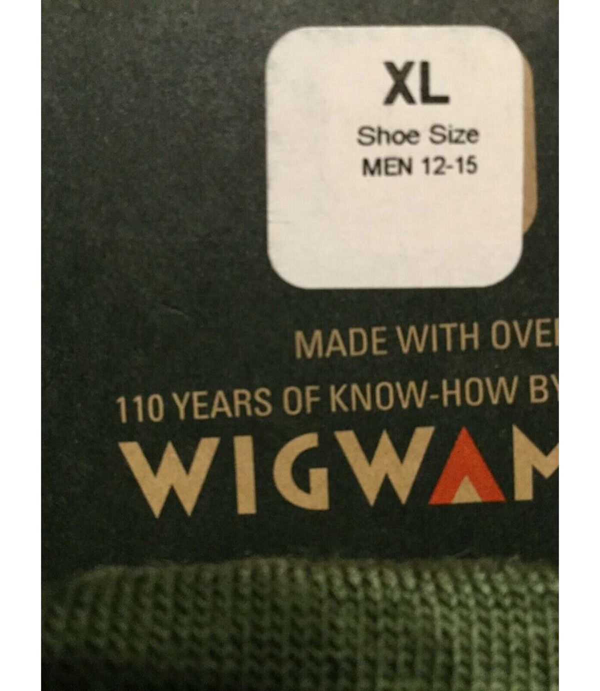 Muck Boots Mens Professional Boot Socks (Moss) - UTFS5814