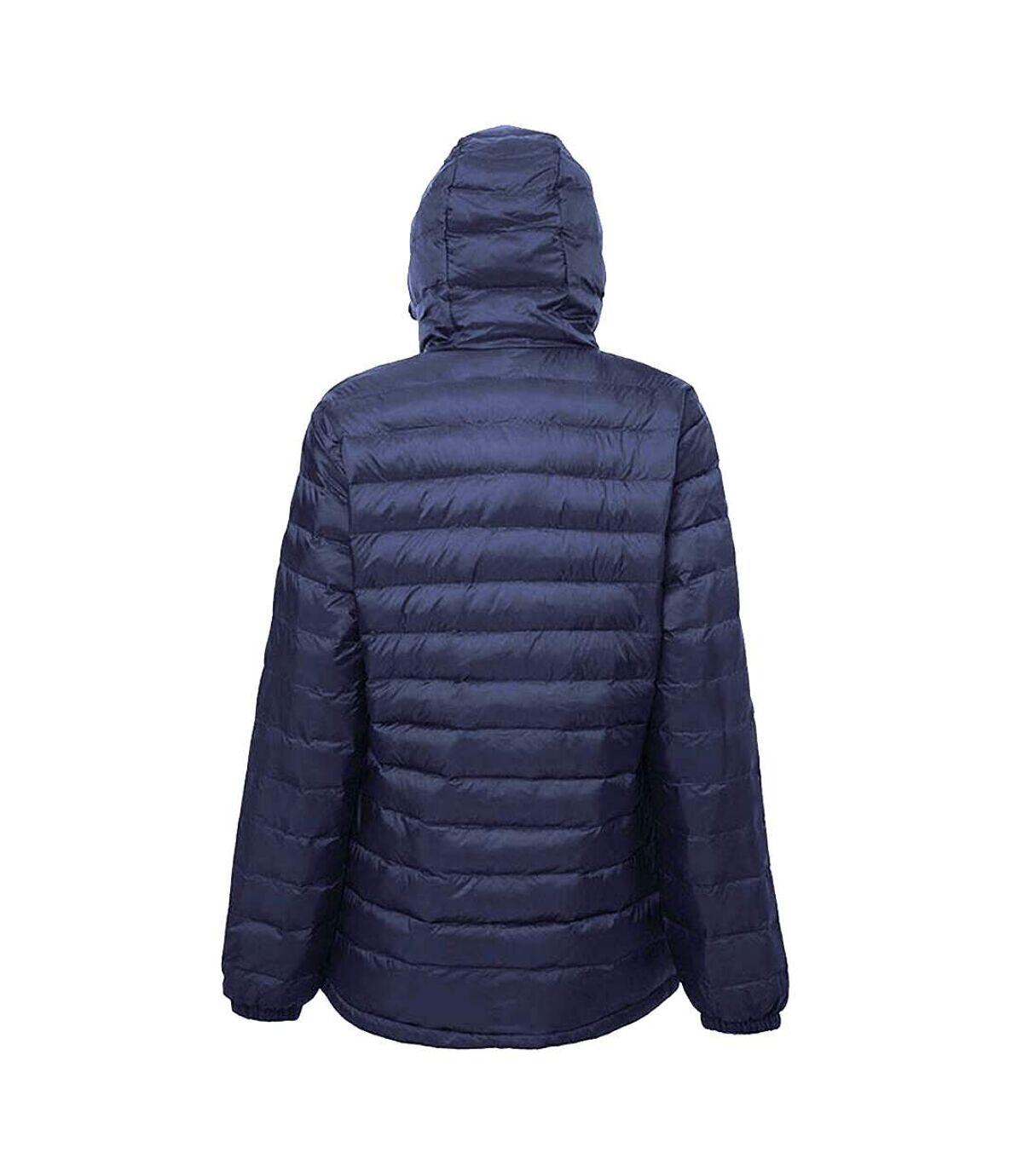 2786 Mens Hooded Water & Wind Resistant Padded Jacket (Camo Grey) - UTRW3424