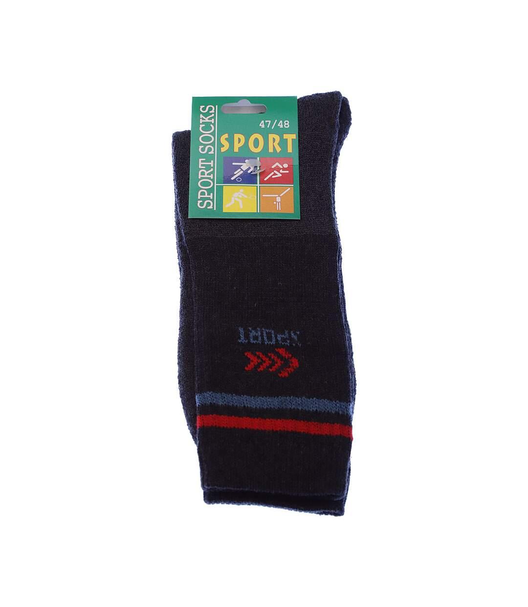 Dégagement Chaussette Mi-Hautes Lot de 5 Sans bouclette Epaisse Coton Gris foncé Sport socks dsf.d455nksdKLFHG