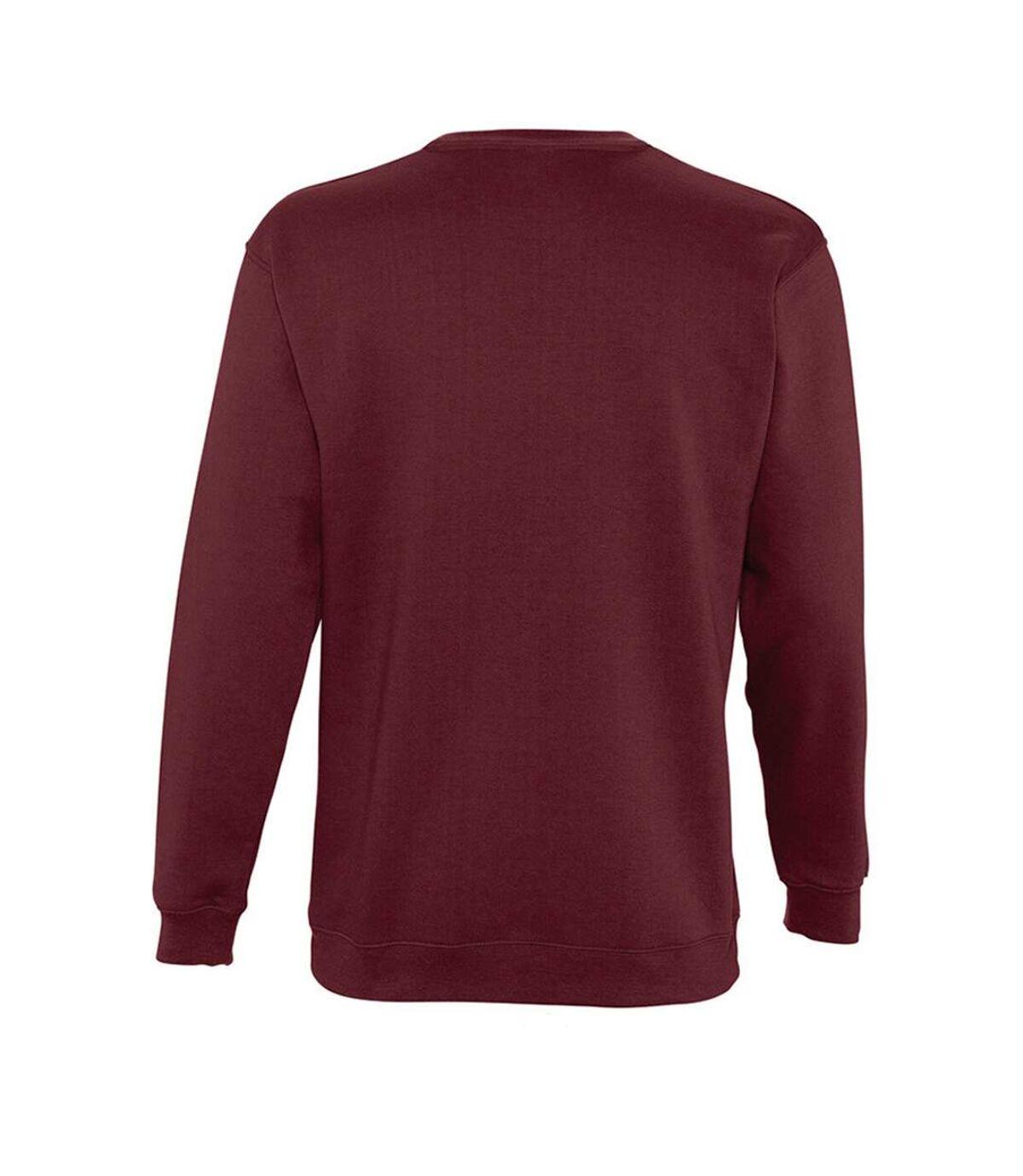 SOLS Unisex Supreme Sweatshirt (Burgundy) - UTPC2837