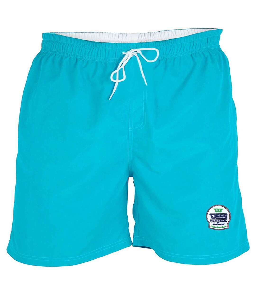Duke Mens Yarrow Kingsize Full Length Swim Short (Blue) - UTDC193