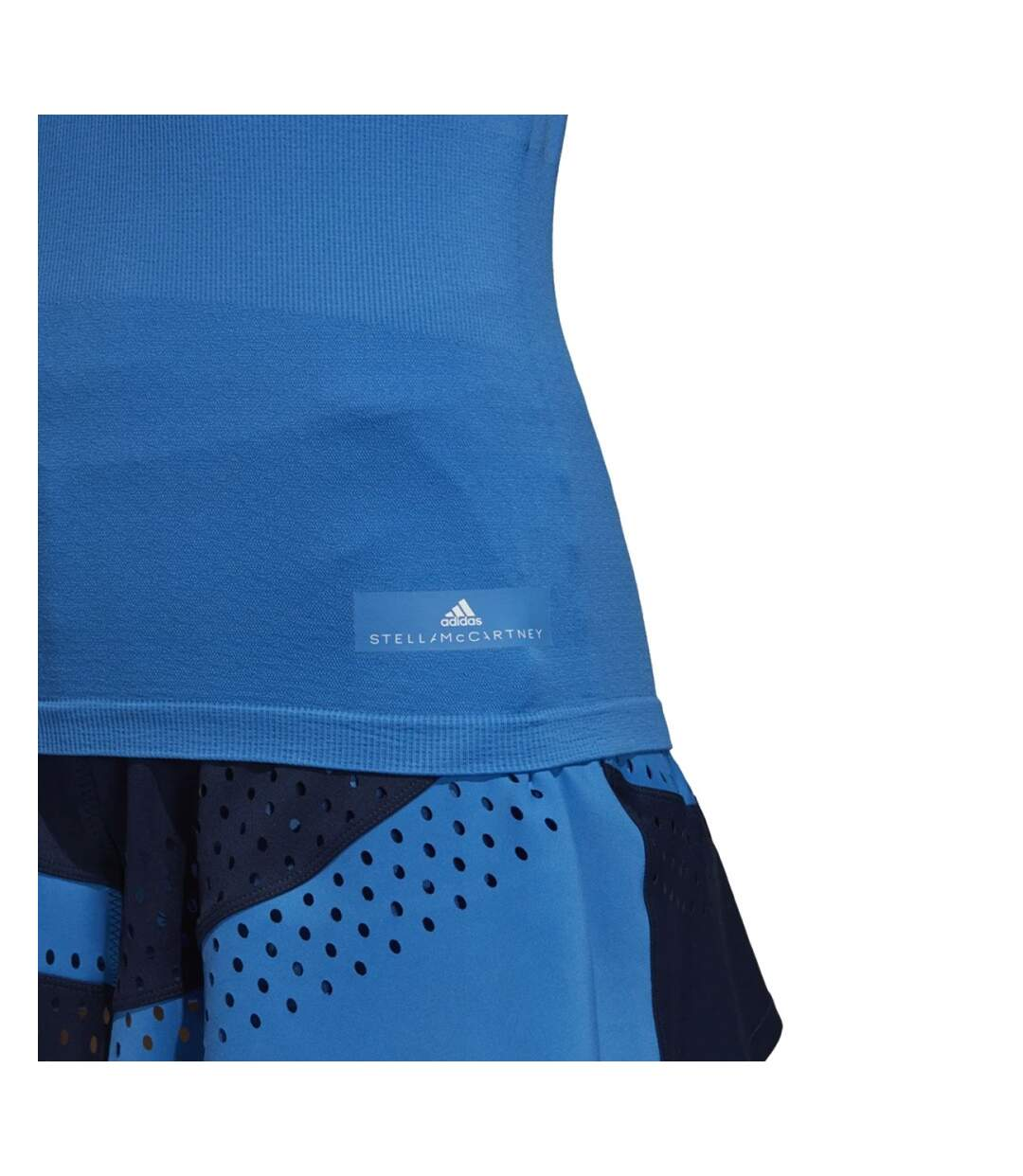 Dégagement T-Shirt de Tennis Bleu Femme Adidas aSMC TEE dsf.d455nksdKLFHG