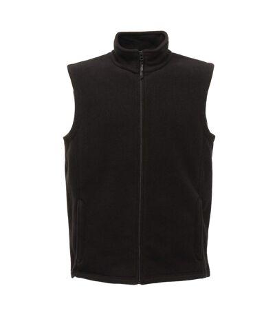 Regatta Mens Micro Fleece Bodywarmer / Gilet (Black) - UTRG1624
