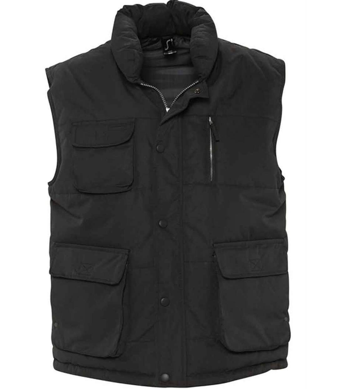 Blouson sans manches unisexe - Bodywarmer - 59000 - noir