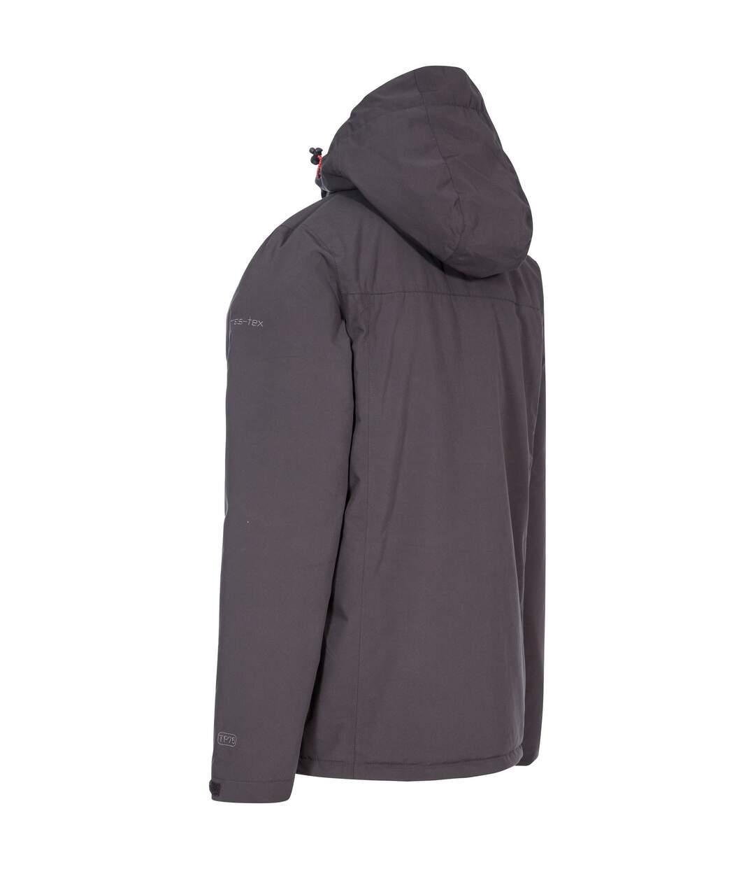 Trespass Mens Toffit Waterproof Jacket (Dark Grey) - UTTP4757
