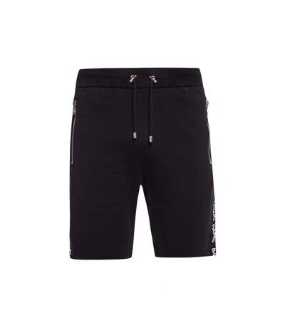 Short en coton molletonné sportswear  -  Balmain - Homme